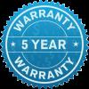 warranty badge no background